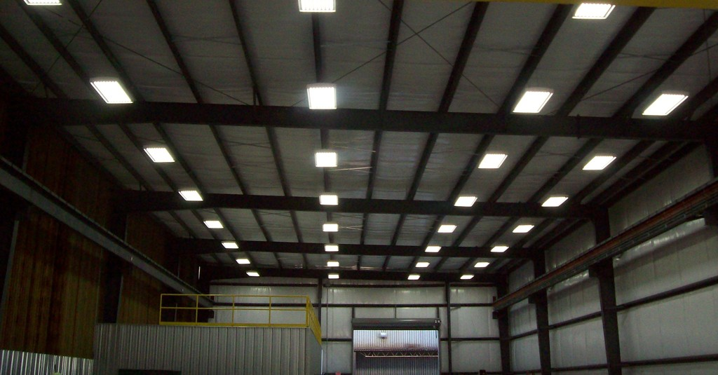 LED lighting for industry